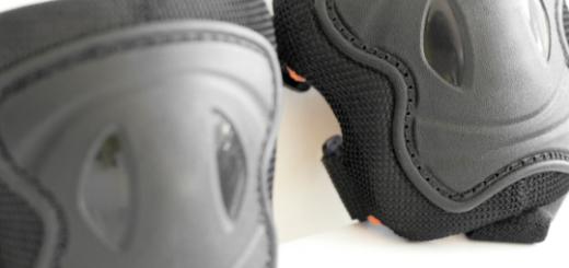 Защита коленей при езде на велосипеде